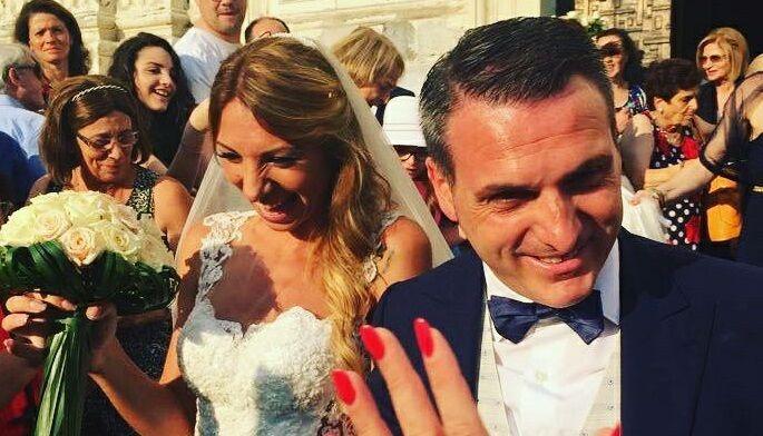 Nola, Vincenzo Iovino ed Enza Cutolo sposi: soldi ai bambini del Santobono