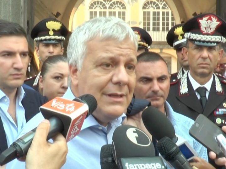 """Galletti: """"Vent'anni di carcere per chi ha appiccato incendi su Vesuvio"""""""