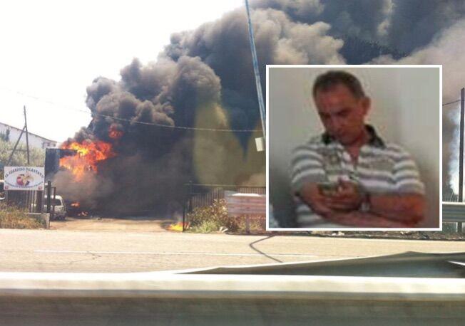 Giugliano, cade da capannone dopo l'incendio: muore Giovambattista Panico. VIDEO