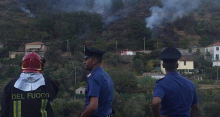 Giugliano, piromane arrestato dei carabinieri a Licola