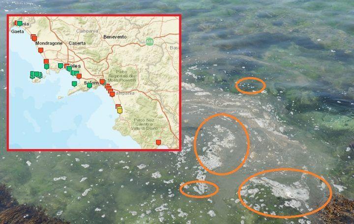 Mare inquinato in Campania, Legambiente pubblica i dati sulle foci dei torrenti