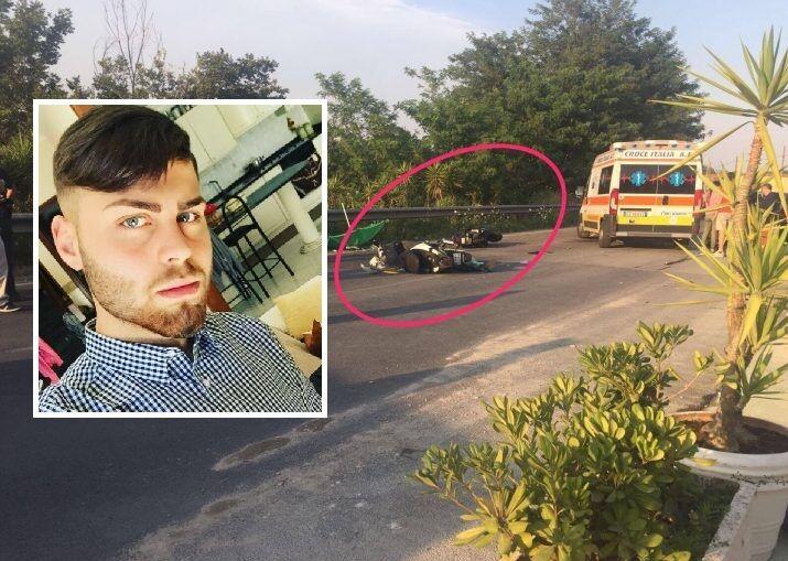 Incidente in via Ripuaria, oggi l'ultimo saluto al 19enne Pasquale Esposito