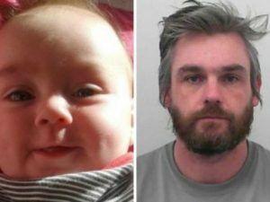 Rompe cranio e mascella alla figlia di 6 mesi, poi la uccide: condannato a 15 anni di reclusione