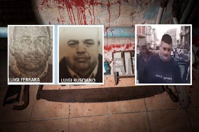 """Afragola, retroscena sulla """"macelleria"""" di camorra: Ferrara e Rusciano fatti a pezzi ancora vivi. VIDEO"""