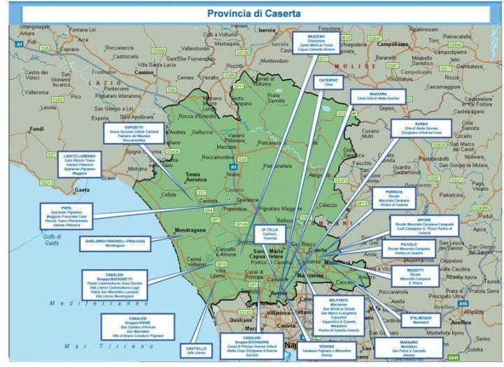Camorra casertana, relazione della DIA: Ecco chi comanda città per città