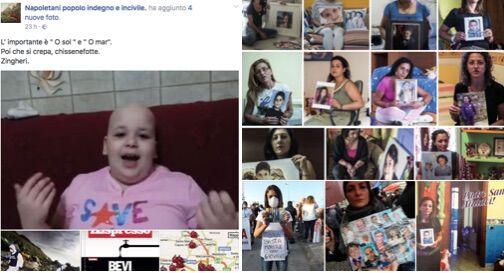 Offese su Facebook ai bimbi della Terra dei Fuochi, scatta la denuncia e la maxi richiesta di risarcimento