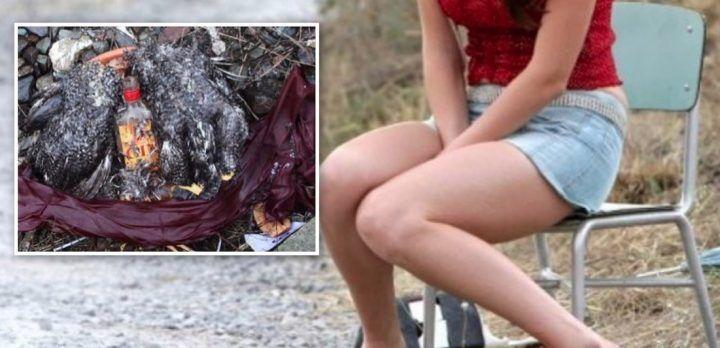 Orrore sul litorale domitio: 16enne costretta a prostituirsi e a bere sangue di gallina