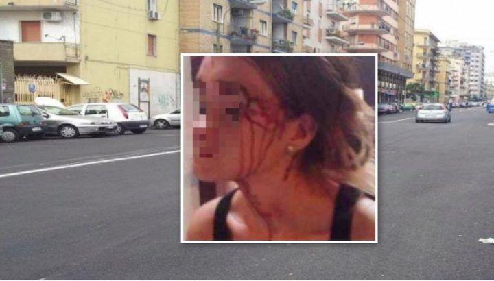 Corso Arnaldo Lucci, donna incinta presa a calci per rapina