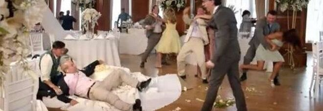 San Nicola La Strada, matrimonio finisce in rissa: volano pugni e calci