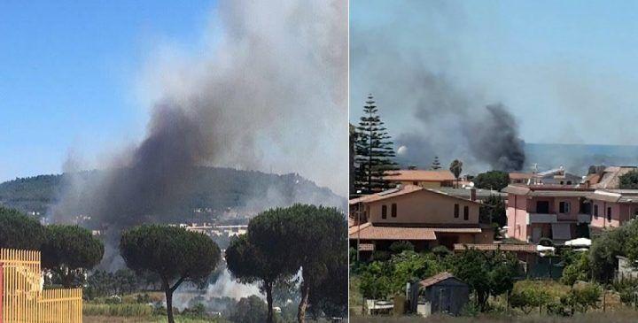 Roghi in tutta la Campania, bruciano anche Monteruscello e Licola