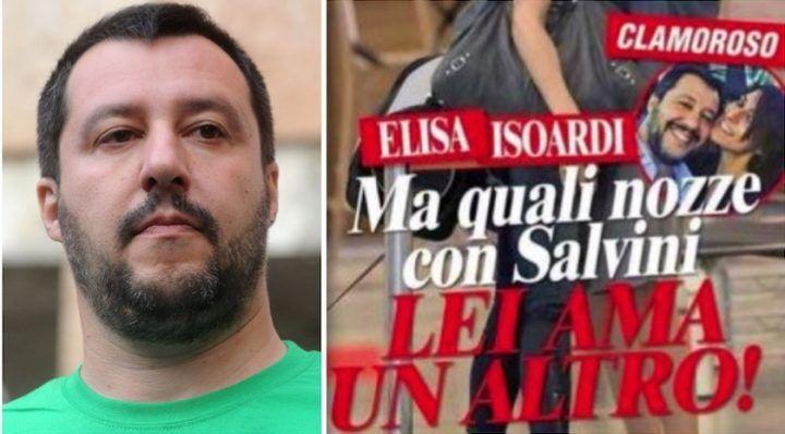 La fidanzata di Matteo Salvini scoperta col presunto amante. Ecco la foto clamorosa