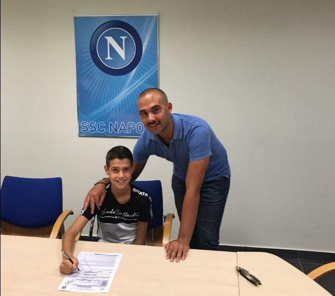 Dalla Giugliano Academy al Napoli, continua il sogno di Carmine Sgariglia