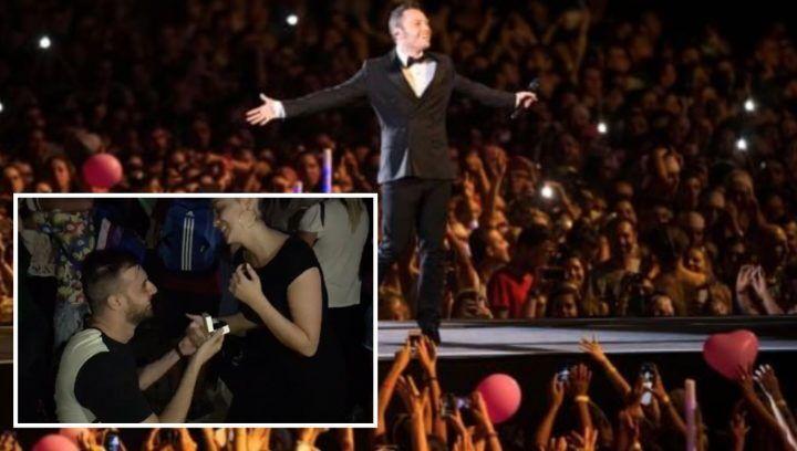 Salerno, chiede di sposarla durante il concerto di Tiziano Ferro: la storia di Alberto e Nicoletta