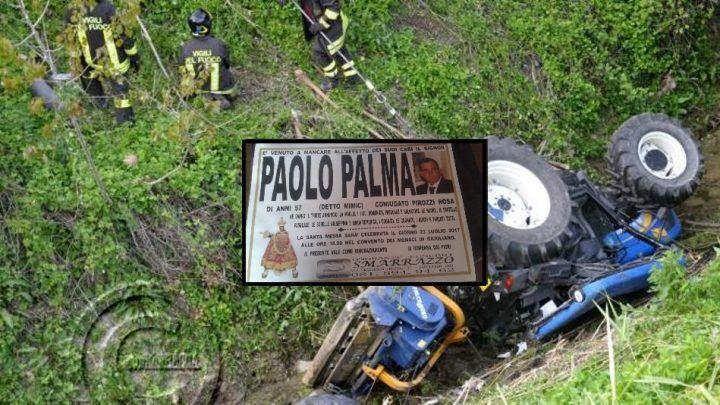 Lutto a Giugliano, Paolo muore schiacciato da un trattore