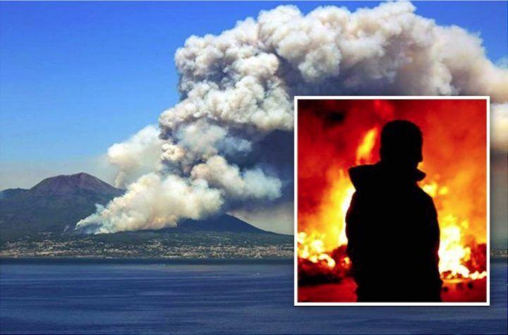 Incendio sul Vesuvio, arrestato il primo piromane: ecco chi è