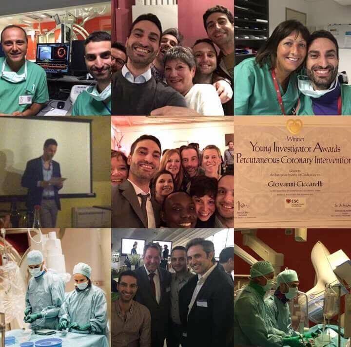 Giugliano, giovane cardiologo giuglianese premiato a Barcellona
