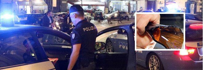Notte di sangue a Napoli: 5 ragazzi aggrediti a bottigliate