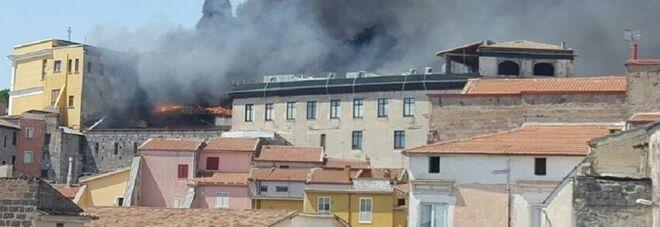 Paura nel casertano: ospedale in fiamme. Ecco cos'è successo