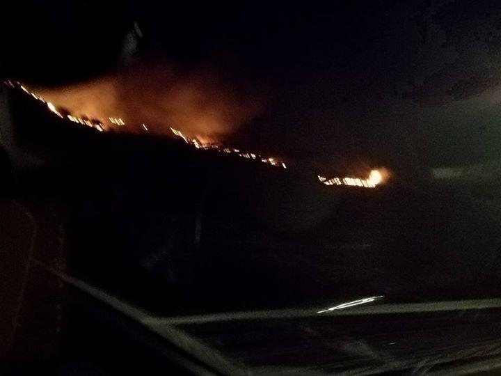 La Campania brucia ancora: fiamme alte a Pozzuoli