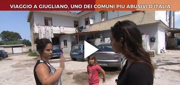 """Giugliano finisce su La7: """"E' il comune più abusivo d'Italia"""""""