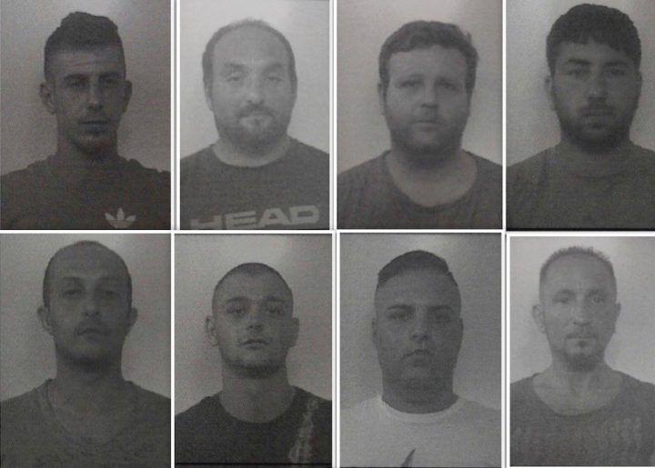 Mondragone, sgominata banda dei furti in casa: 9 arresti. Tutti i nomi e le foto