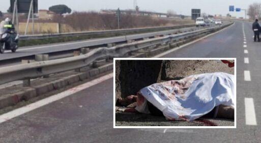 Giugliano, cadavere sull'asse mediano: uomo riverso a terra