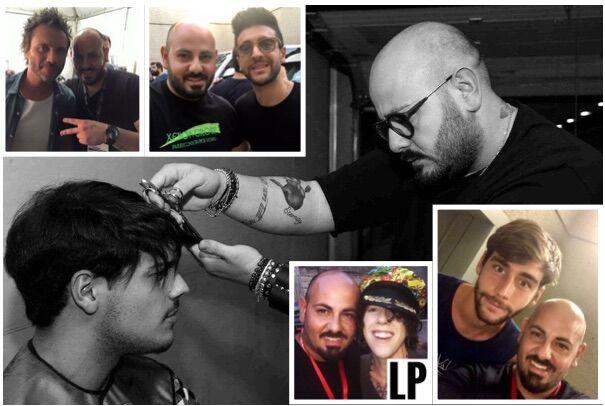 Live internazionali all'Arena Flegrea, l'immagine degli artisti affidata ad un hair stylist giuglianese