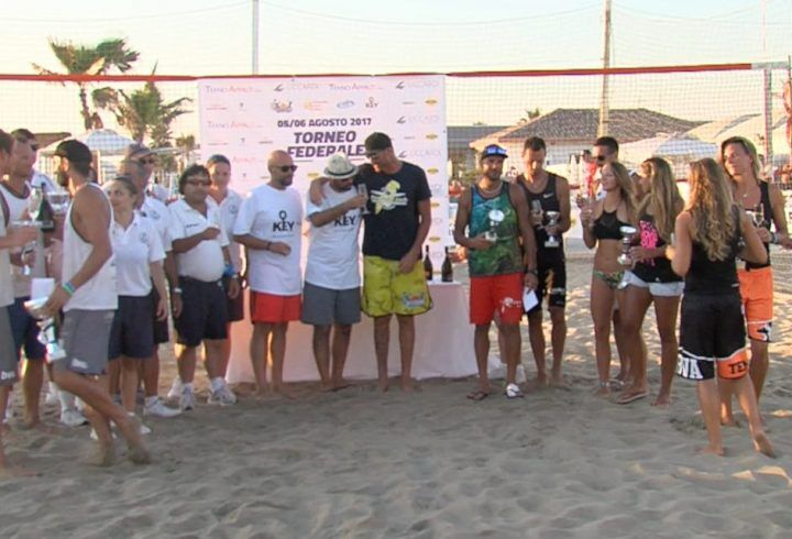 Licola, beach volley: grande successo del torneo federale al Key Beach