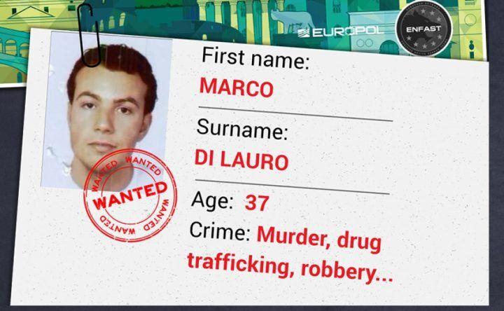 Marco Di Lauro, caccia al latitante in tutta Europa: campagna di sensibilizzazione online