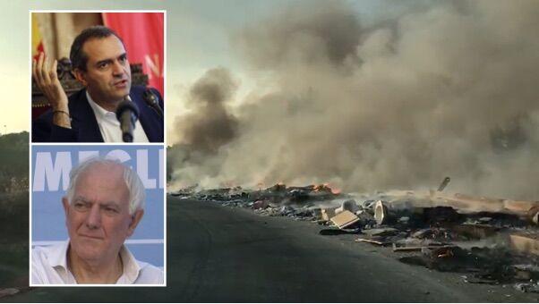 """Incendio a Scampia, il sindaco di Melito contro De Magistris: """"E' insensibile, intossicati centinaia di cittadini"""""""