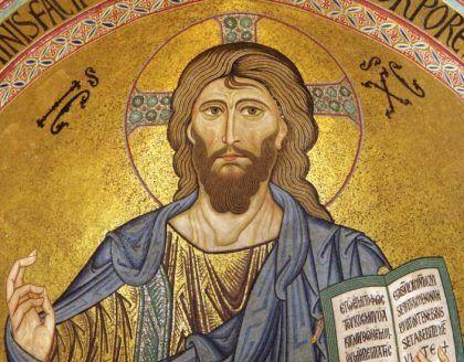 santissimo salvatore festa 6 agosto mosaico
