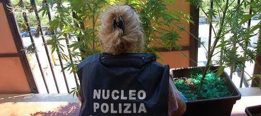 Portici, la polizia controlla il suo terrazzo di casa e decide di arrestarlo
