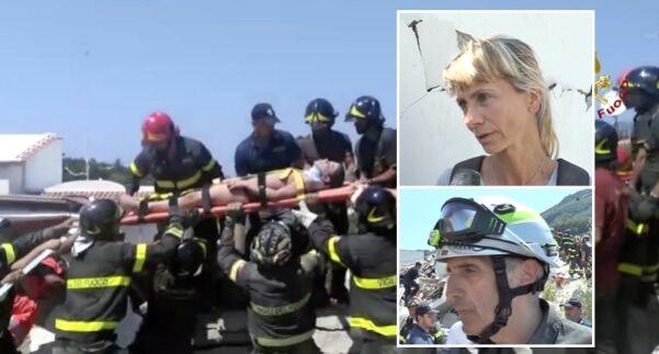 """Terremoto Ischia, il piccolo eroe Ciro. """"Così ha guidato i soccorritori e salvato i fratelli"""". VIDEO"""