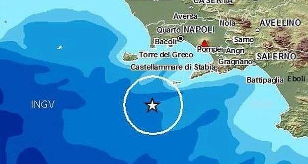 Terremoto a Ischia, paura e black-out
