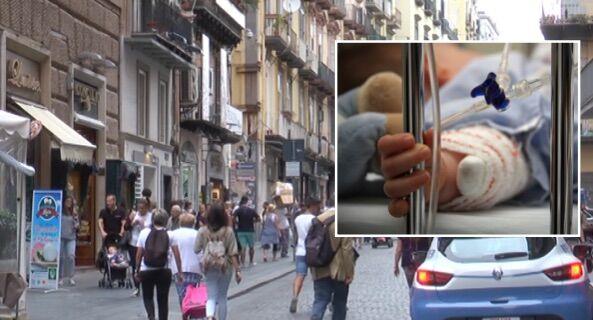 Paura per una famiglia di Giugliano a Napoli, bimbo di 7 mesi in ospedale