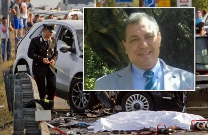 Tragico schianto in Campania, scontro tra due auto: muore Davide Volpe