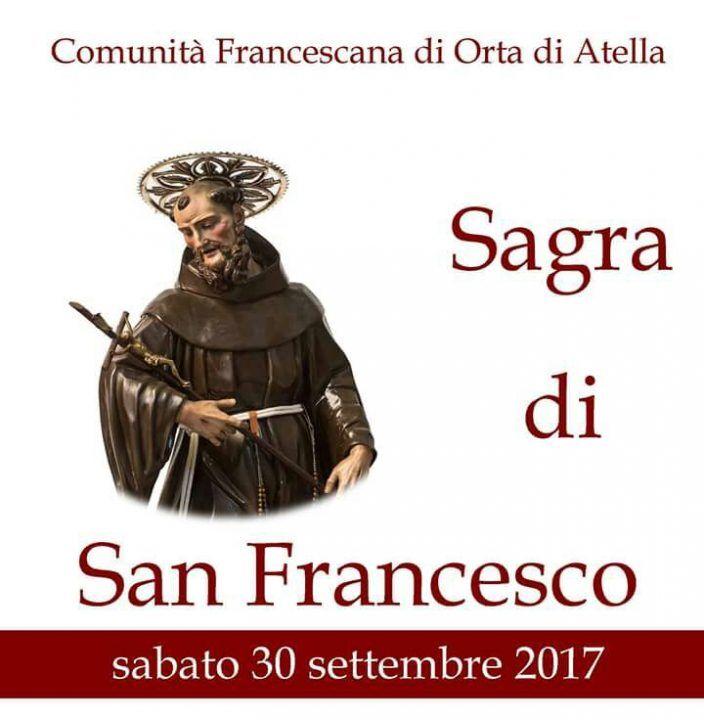 Orta di Atella, tutto pronto per la sagra in onore di San Francesco