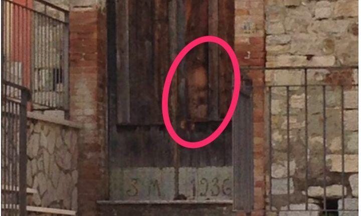 """""""È il volto di Padre Pio"""", si grida al miracolo in Campania"""