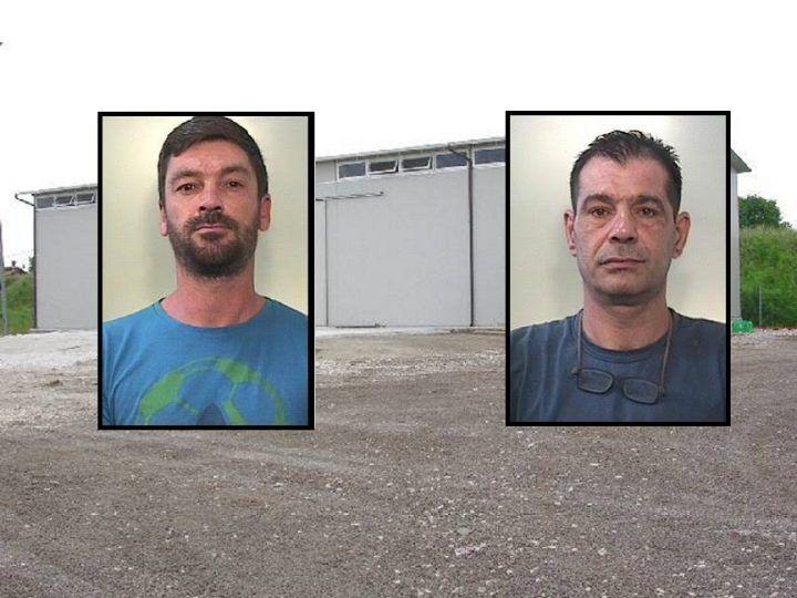 Rubavano macchinari nelle aziende della zona: due arresti nel casertano