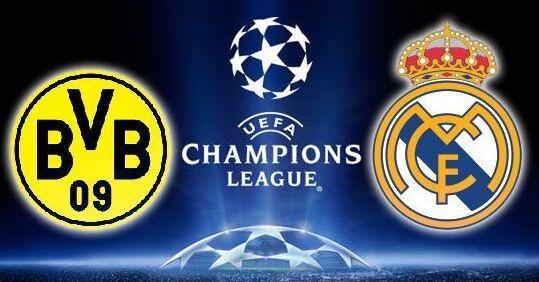Dove vedere Borussia Dortmund-Real Madrid: streaming diretta gratis, free in tv
