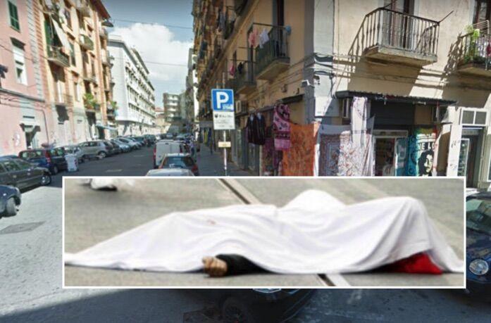 """Napoli, trovato cadavere in centro. I residenti: """"Era li da molto tempo"""""""