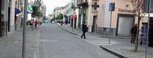 Giugliano, alle 10:30 chiuso Corso Campano dopo il tentato furto di ieri. Parla il sindaco Poziello
