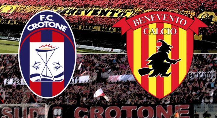 Dove vedere Crotone-Benevento: streaming diretta gratis, free live in tv