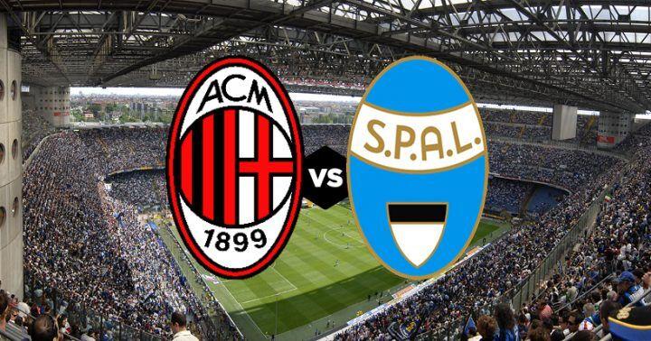 Dove vedere Milan-Spal: diretta streaming gratis, free in tv