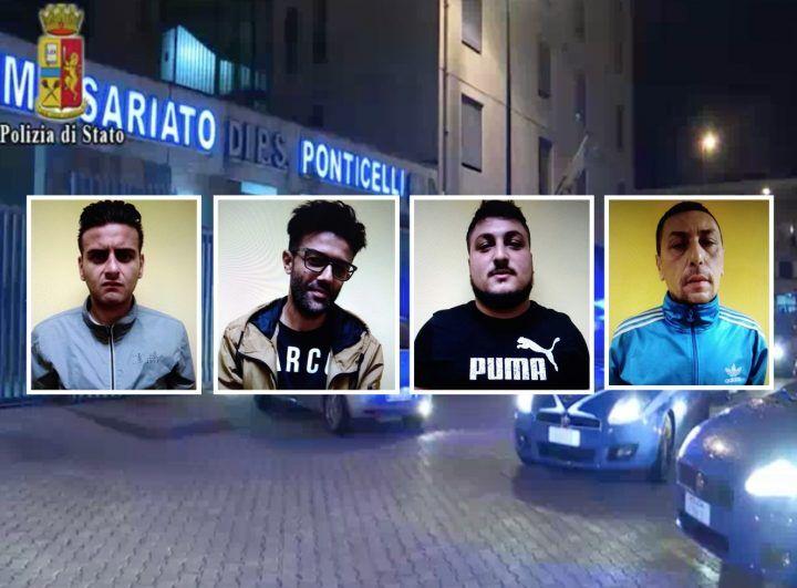 Napoli-Sant'Anastasia, arrestato gruppo di estorsori: inseguimenti e spari nell'auto di un imprenditore. IL VIDEO