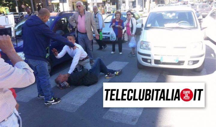 Aversa, travolto da auto mentre attraversa la strada: pedone all'ospedale