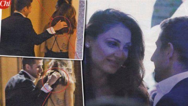 Anna Tatangelo paparazzata con un altro uomo: sguardi complici e abbracci