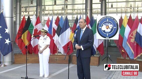 Inaugurato nuovo hub Nato in Campania