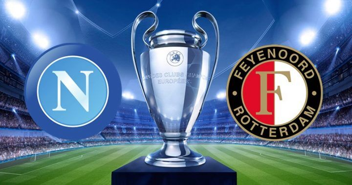 Stasera Napoli-Feyenoord su Canale 5: Champions League in tv