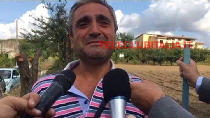 """Giugliano, ucciso in un campo Il fratello della vittima: """"L'ho visto morire"""". VIDEO"""
